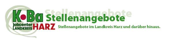 KoBa Stellenangebote - Stellenangebote im Landkreis Harz und darueber hinaus