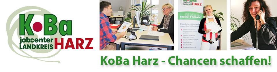 KoBa Harz – Kommunale Beschäftigungsagentur Jobcenter Landkreis Harz